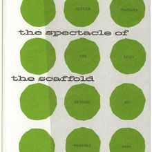 <cite>The Spectacle of the Scaffold</cite>, Penguin Great Ideas