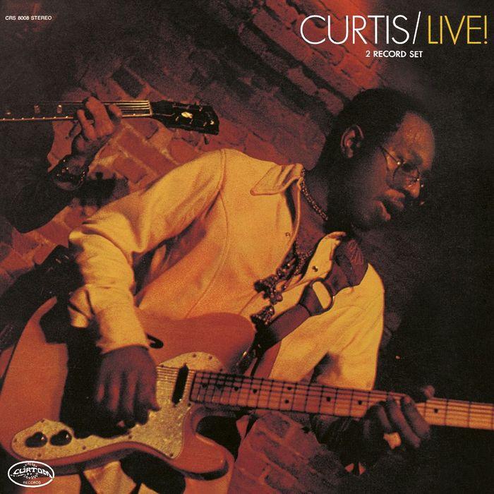 Curtis Mayfield – Curtis/Live! album art