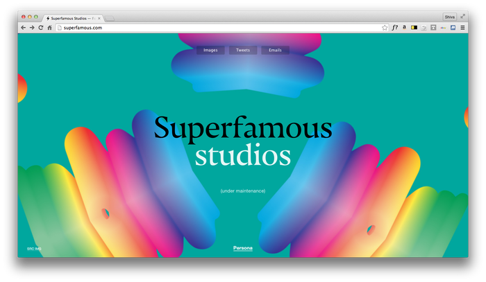Superfamous website 1