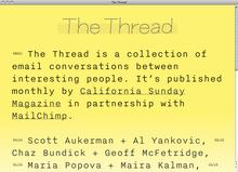 <cite>The Thread</cite> website