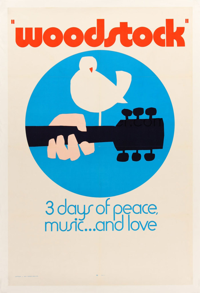 Woodstock movie posters 1