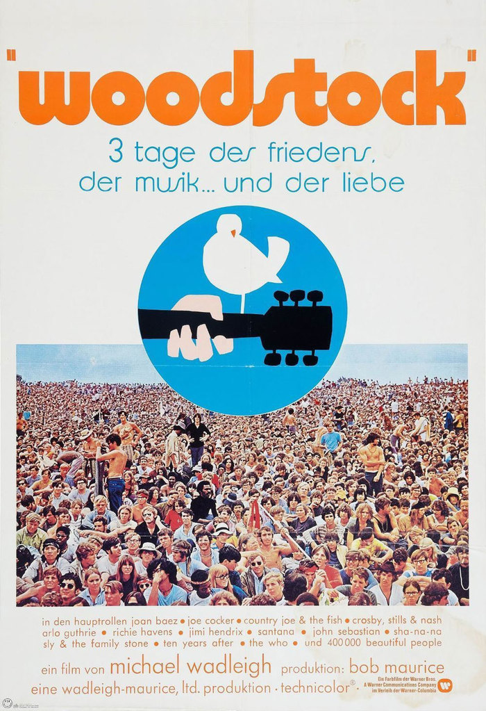 Woodstock movie posters 2