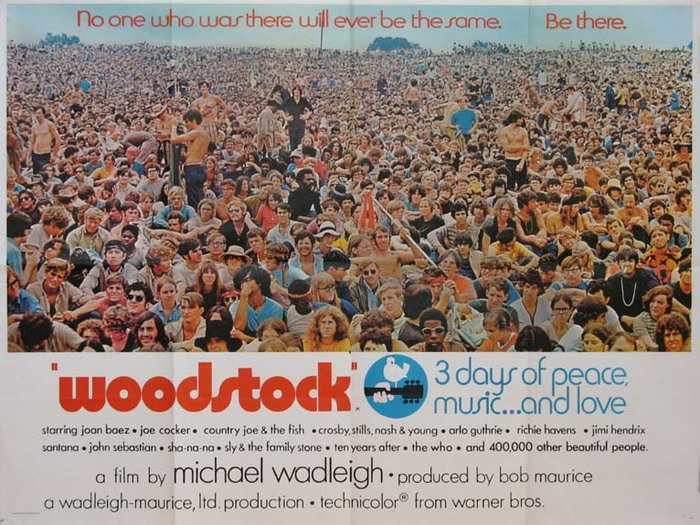 Woodstock movie posters 3
