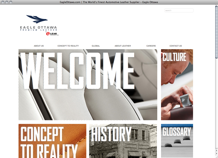 Eagle Ottawa website 1