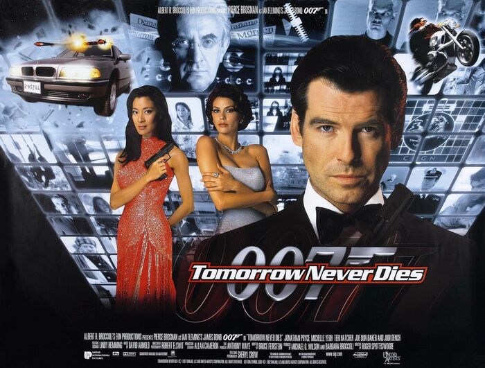 Tomorrow Never Dies film titles and marketing 2