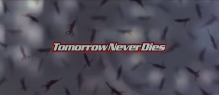 Tomorrow Never Dies film titles and marketing 3