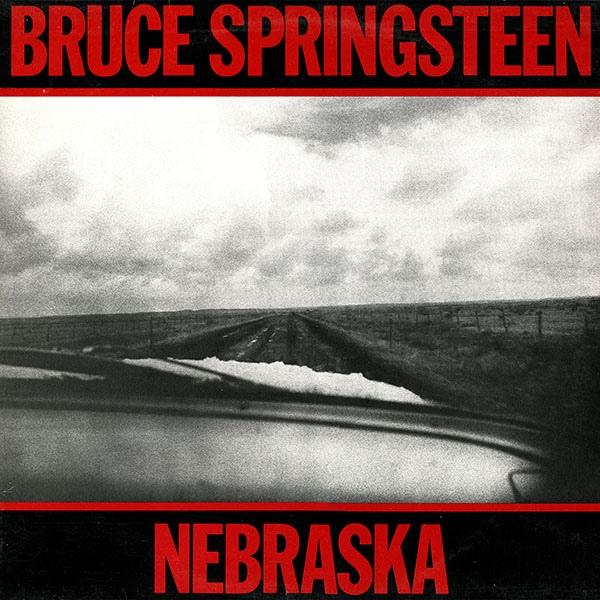 Bruce Springsteen Nebraska Album Art Fonts In Use