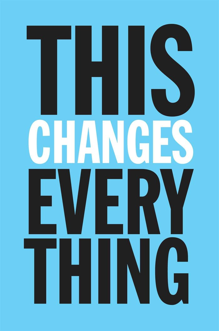 This Changes Everything book cover 1