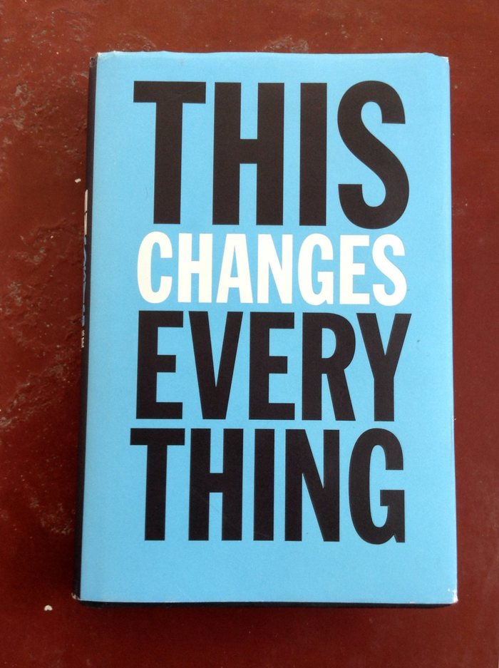 This Changes Everything book cover 2