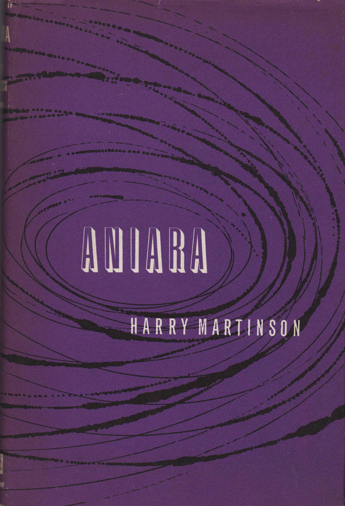 Aniara: A Review of Man in Time and Space, first American hardcover