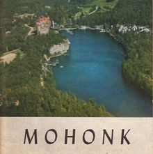 Lake Mohonk Mountain House brochure