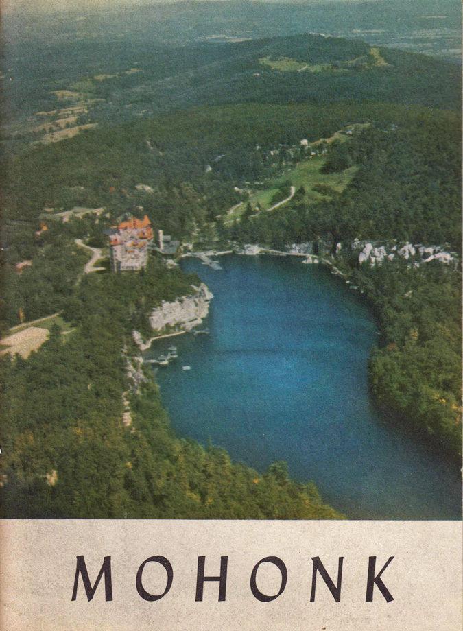 Lake Mohonk Mountain House brochure