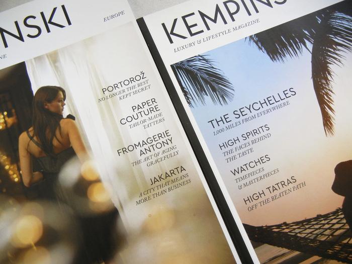 Kempinski Luxury & Lifestyle Magazine andApp 1
