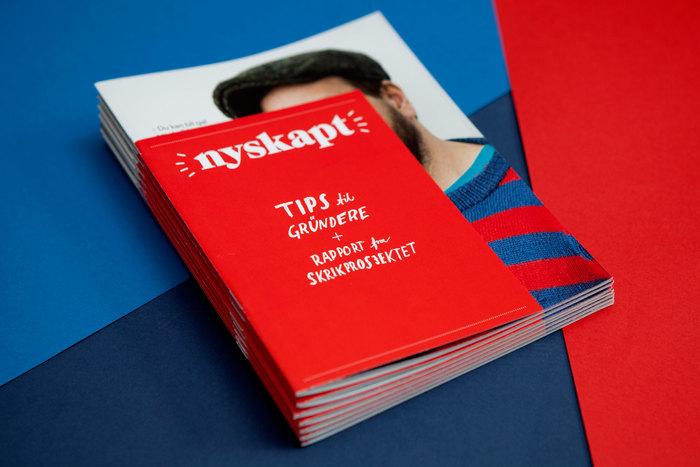 Nyskapt magazine and report 1