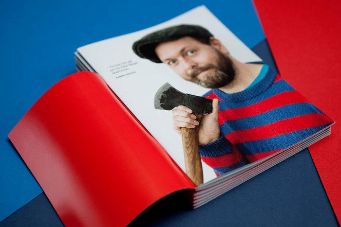 Nyskapt magazine and report 2