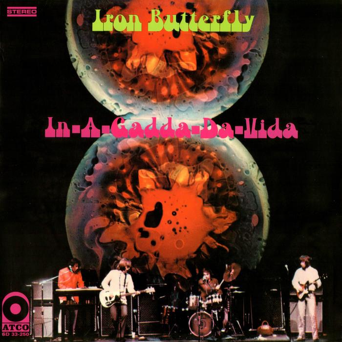 Iron Butterfly – In-A-Gadda-Da-Vida album art 1