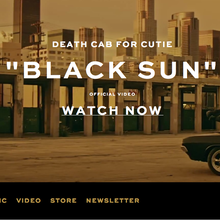<cite>Death Cab For Cutie</cite> website