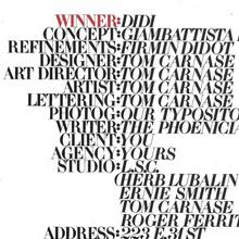 Didi typeface ad