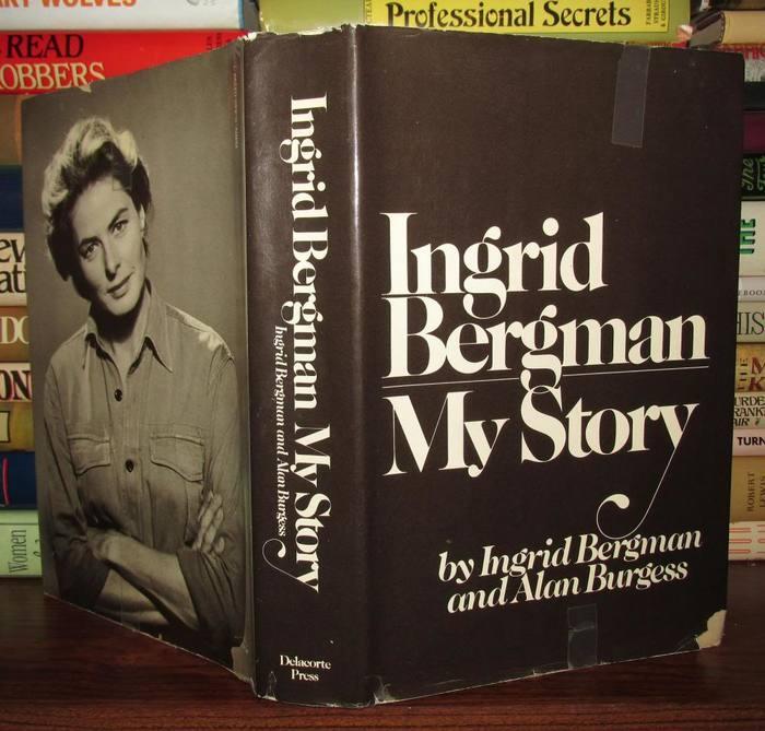 Ingrid Bergman My Story, Delacorte Press first edition 1