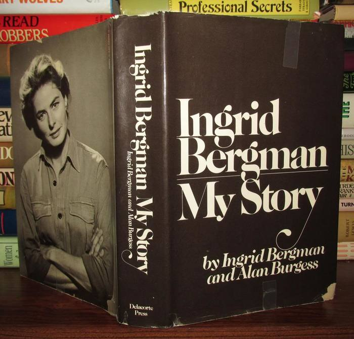 Ingrid Bergman My Story, Delacorte Press first edition 1