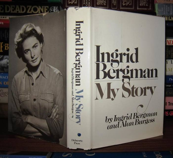 Ingrid Bergman My Story, Delacorte Press first edition 3
