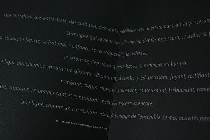 Une bréve histoire des lignes exhibition catalog 1