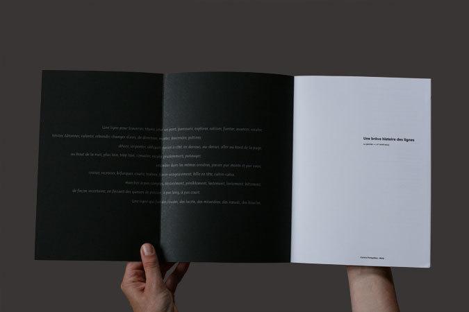 Une bréve histoire des lignes exhibition catalog 2