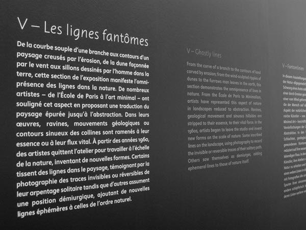 Une bréve histoire des lignes exhibition signage 5