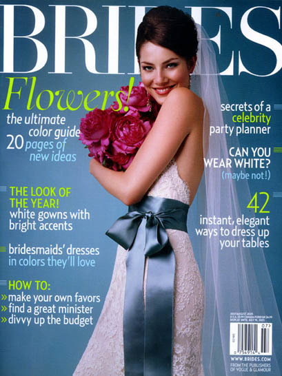 Brides Magazine, Covers (2004 Redesign) 7