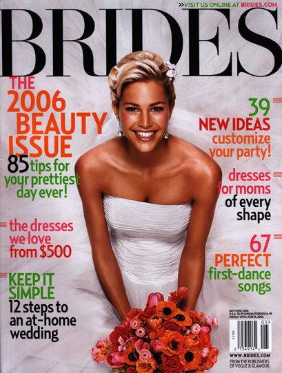 Brides Magazine, Covers (2004 Redesign) 3