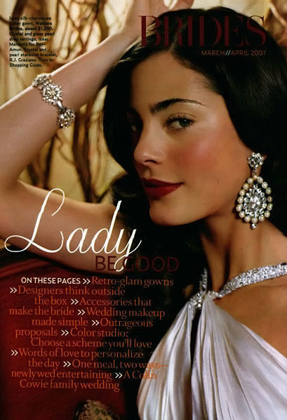 Brides Magazine, Interior Pages (2004 Redesign) 14