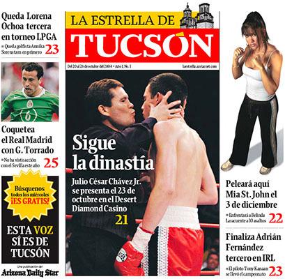 Arizona Daily Star & La Estrella de Tucsón (2004–08) 14