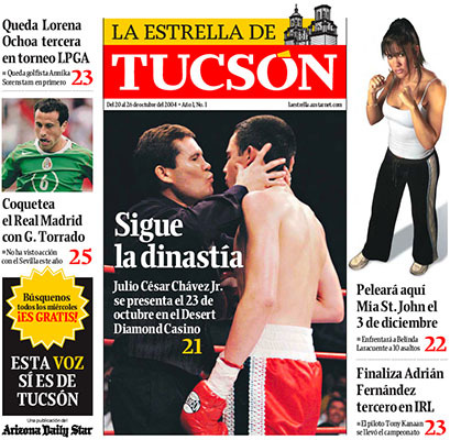 Arizona Daily Star & La Estrella de Tucsón (2004–08) 14