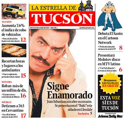 Arizona Daily Star & La Estrella de Tucsón (2004–08) 15