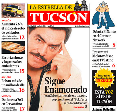 Arizona Daily Star & La Estrella de Tucsón (2004–08) 15
