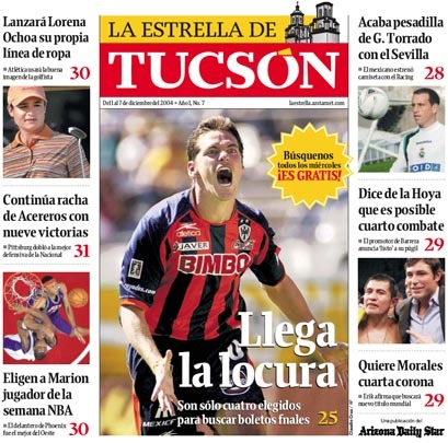 Arizona Daily Star & La Estrella de Tucsón (2004–08) 17