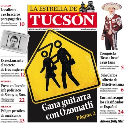 Arizona Daily Star & La Estrella de Tucsón (2004–08) 18