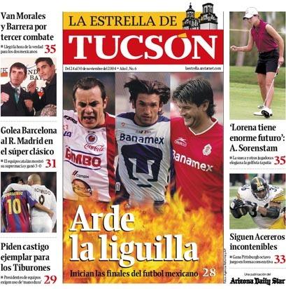 Arizona Daily Star & La Estrella de Tucsón (2004–08) 19