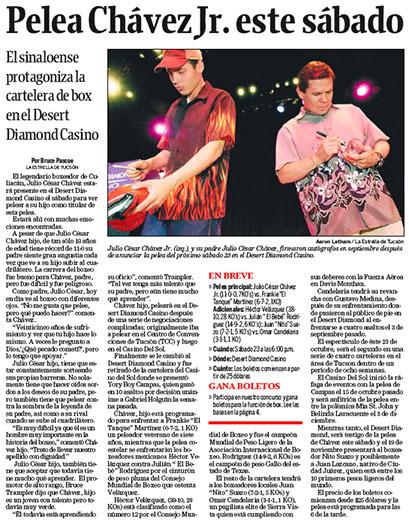 Arizona Daily Star & La Estrella de Tucsón (2004–08) 9