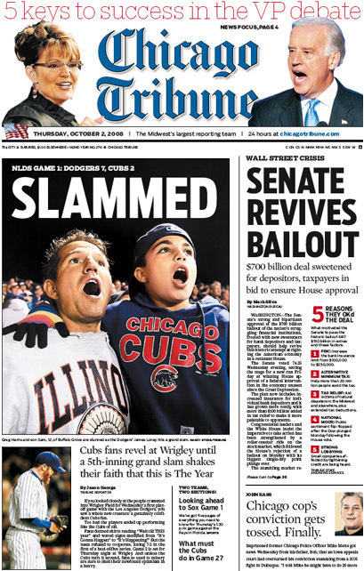 Chicago Tribune, 2008–09 8