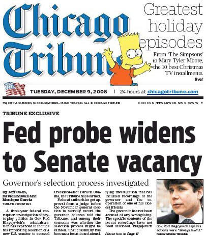 Chicago Tribune, 2008–09 16