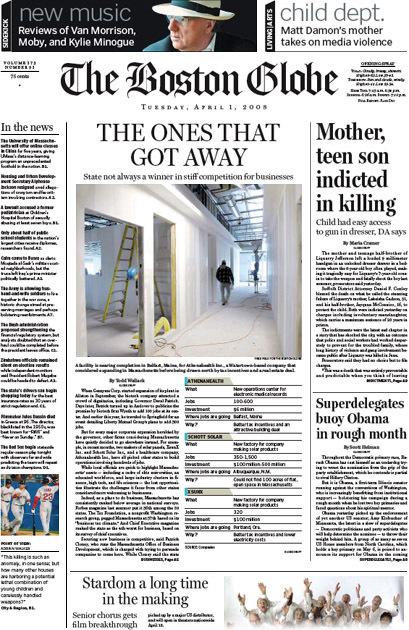 The Boston Globe 7