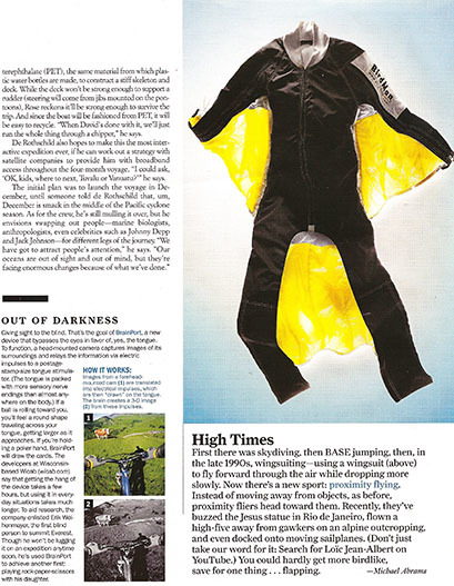 National Geographic Adventure – Inside Pages 1