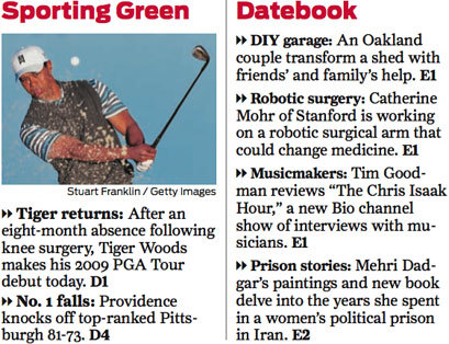 San Francisco Chronicle (2008) 13
