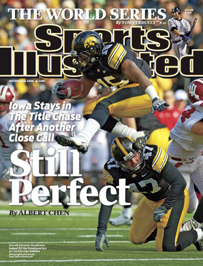 Sports Illustrated covers, 2008–2010 6