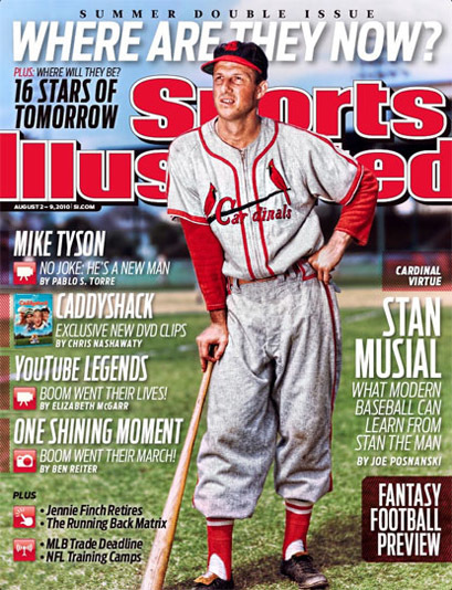 Sports Illustrated covers, 2008–2010 11