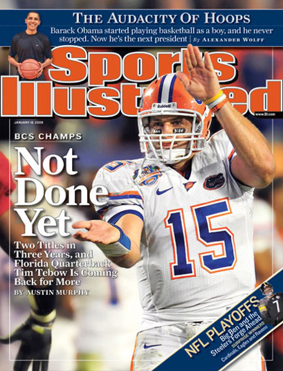 Sports Illustrated Covers, 2008–2010 12