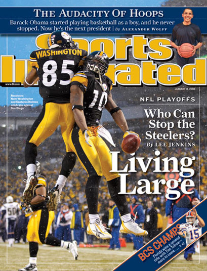 Sports Illustrated covers, 2008–2010 8