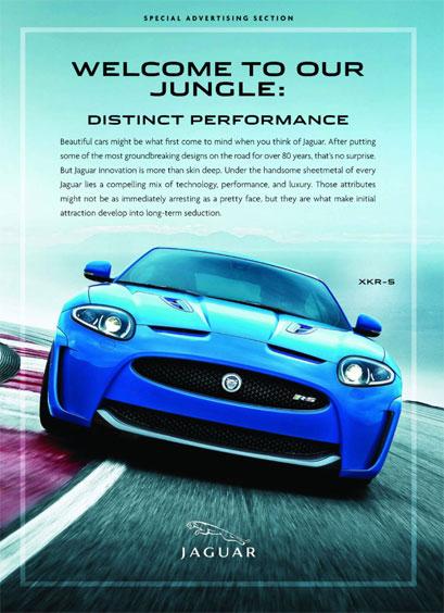 Jaguar Xkr S Print Ad