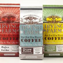 Irving Farm coffee bags